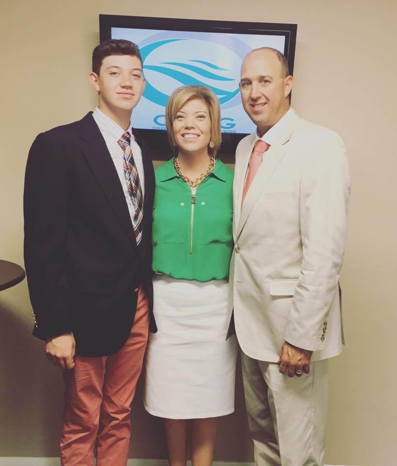 Chad, Francie and Blaine Keathley